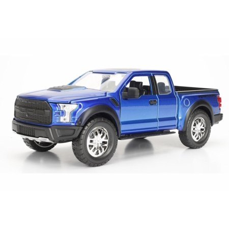 2017 Ford F 150 Raptor Blue Jada 97756wa1 1 24 Scale Cast Model Toy Car
