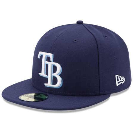 Tampa Bay Rays Glass (Tampa Bay Rays New Era Game Authentic Collection On-Field 59FIFTY Fitted Hat - Navy )