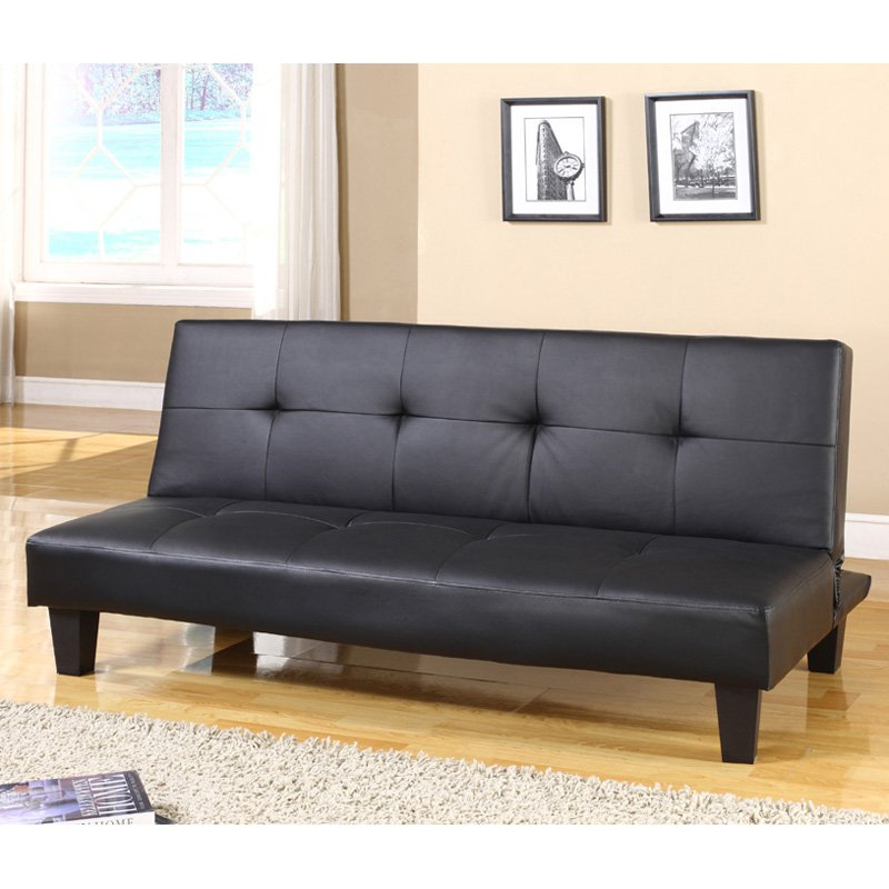 InRoom Designs Klik Klak Convertible Sleeper Sofa