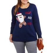 Holiday Women's Plus Gingerbread Man Ho