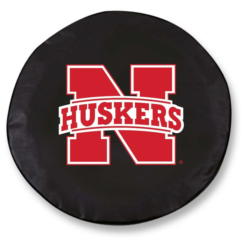 Nebraska Standard Tire Cover (Black)
