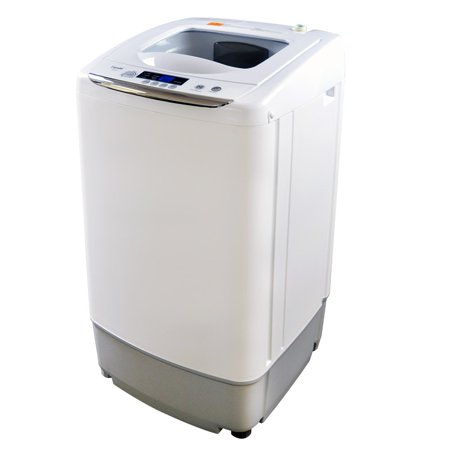 Panda 0.9cu.ft Compact Portable Washer, Top load Fully Automatic Washing Machine, (Washing Bathroom Rugs In Front Load Washer)
