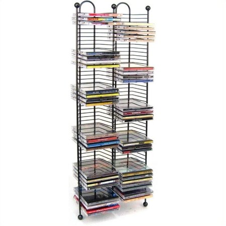 Kingfisher Lane 100 Nestable CD Storage Tower in (Cd Nestable Tower)