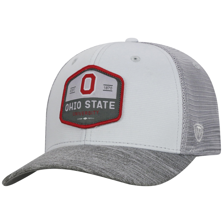 ee1a253aaa96a ... top quality tow ncaa ohio state buckeyes hyjak one fit three tone hat  walmart 766b4 971ff