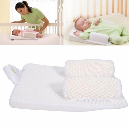 Sleep Positioner Pillow,Zerone Baby Infant Newborn Sleep Positioner Anti Roll Pillow Prevent Flat Head Cushion Safe Support