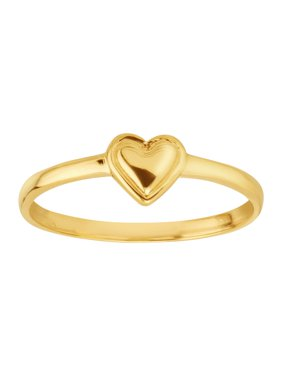 Eternity Gold Petite Expressions  Heart Ring in 14kt Gold