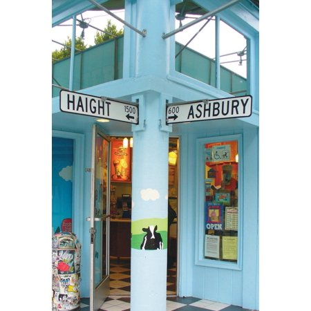 Haight - Ashbury San Francisco Street Signs Journal: 150 Page Lined Notebook/Diary