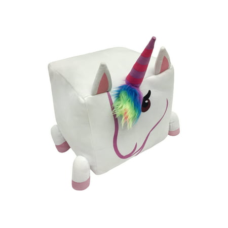 Jojo Unicorn 12x12 Cube Pillow Kids Bedding Walmartcom