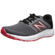 New Balance Men's 520V5 Cushioning Running Shoe, Castlerock/Energy Red/Black