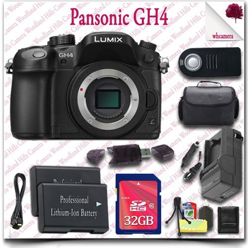 Panasonic Lumix DMC-GH4 4K Mirrorless Digital Camera (Bod...