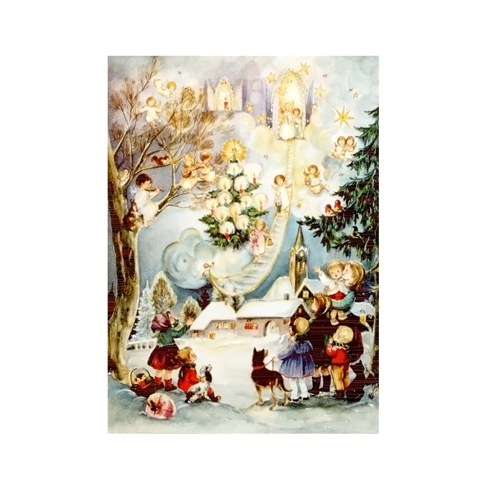 SELL ADV704 Sellmer Advent - Children with Angels