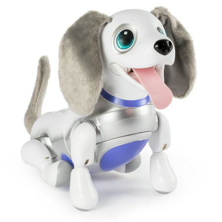 Zoomer Playful Pup, Responsive Robotic Dog with Voice Recognition and Realistic Motion, for Ages 5 and Up