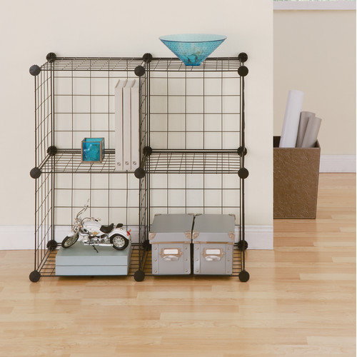 Organize It All Wire Cube 30'' Shelving Unit (Set of 4)