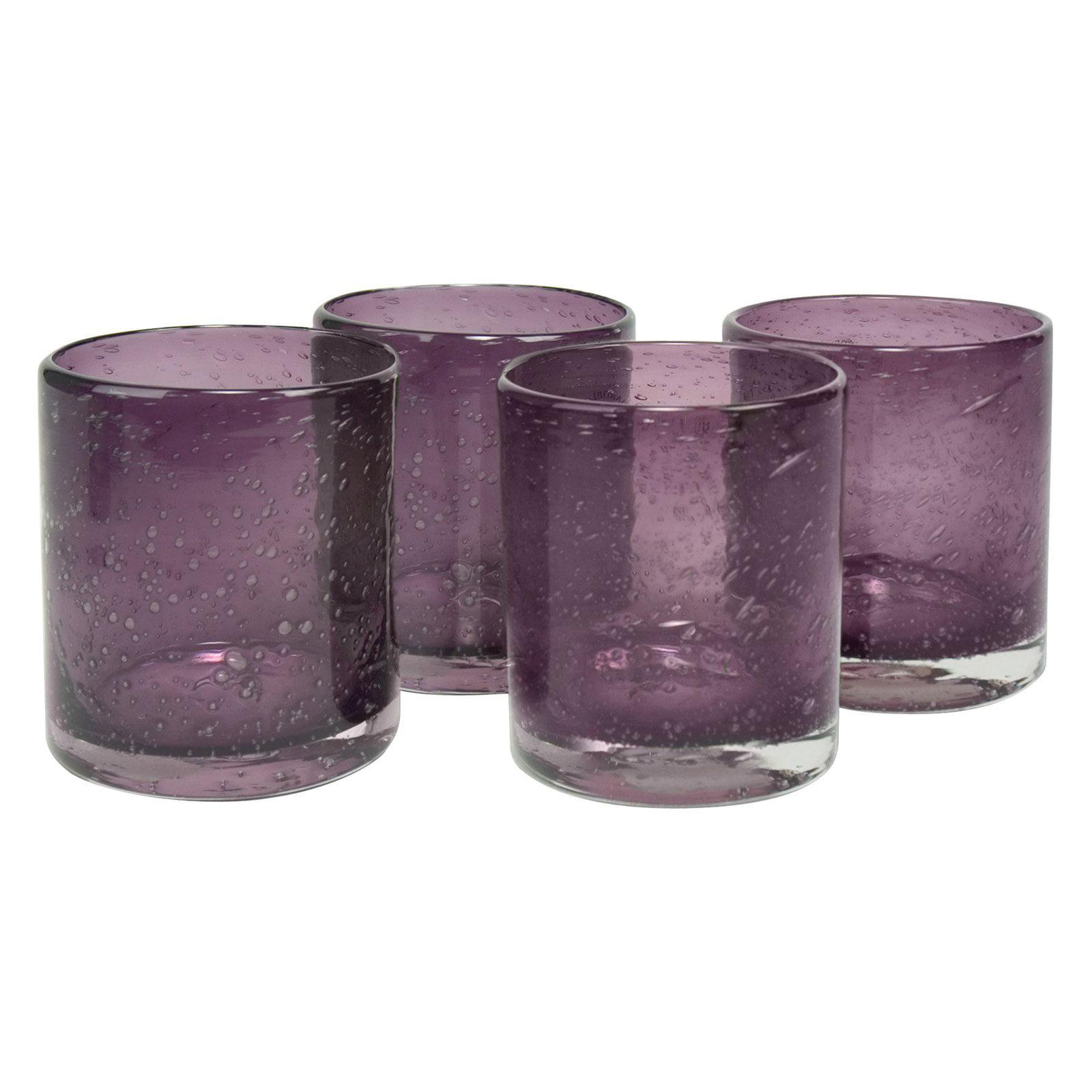 Artland Inc. Iris Plum DOF Glasses - Set of 4