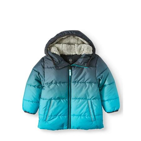 Wonder Nation Baby Toddler Boy Bubble Jacket (686 Boys Snowboard Jacket)