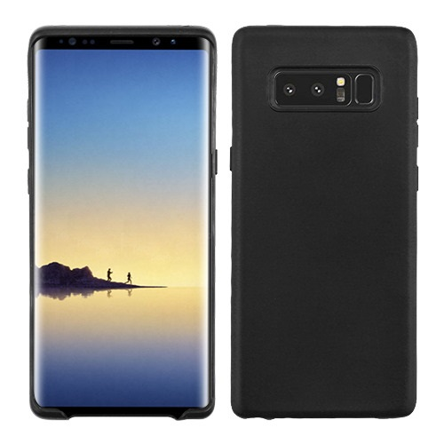 Valor Gel Matte Candy Skin Case Cover For Samsung Galaxy Note 8 - Black