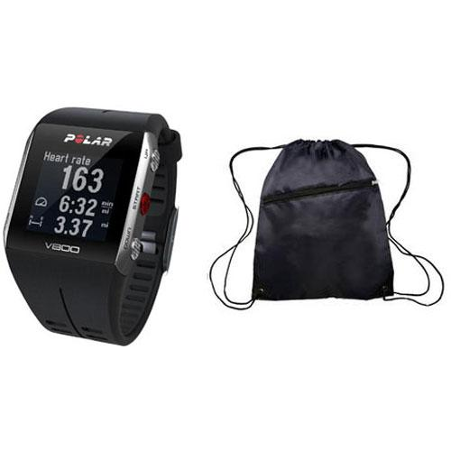 Polar  -  V800 GPS Sports Watch with Heart Rate Monitor and Bag -  Black