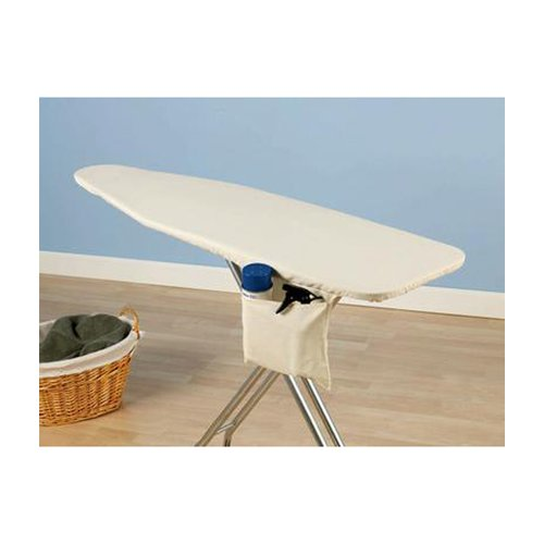 Household Essentials Deluxe Replacement Ironing Board Cover and Pad, Natural