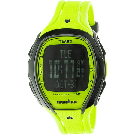 - Men's Ironman Sleek TW5M00400 Yellow Resin Quartz Sport Watch