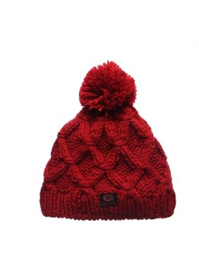 half off cf130 44d1c Product Image Georgia Bulldogs Zephyr Marilen Cable Knit Women s Red Cold  Weather Beanie One Size