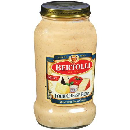 (2 pack) Bertolli Four Cheese Rosa Pasta Sauce 15 oz.