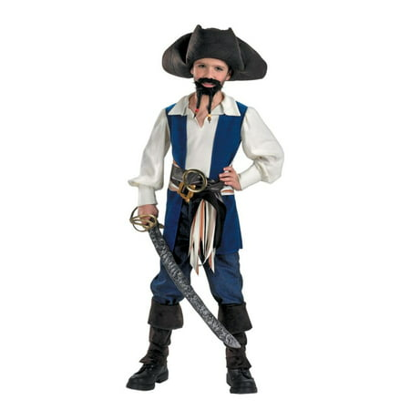 Captain Jack Sparrow Child Costume (Captain Jack Sparrow Wig)