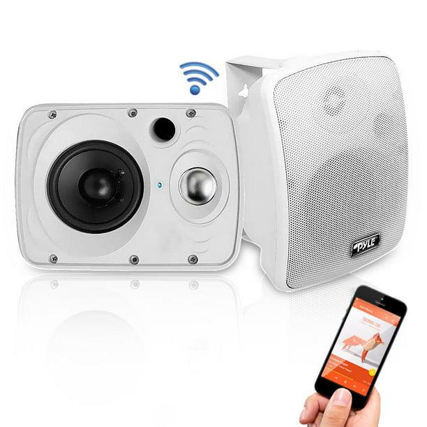 Pyle Home 6 5 Indoor Outdoor 800 Watt Bluetooth Speaker System Walmart Com Walmart Com