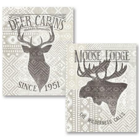 Gango home decor lodge soft lodge v two 11x14in unframed paper posters walmart com