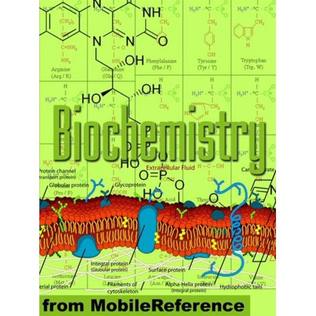 Biochemistry Study Guide: Enzymes, Membranes And Transport, Energy Pathways, Signal Transduction, Cellular Respiration, Glycolysis, Krebs/Citric Acid Cycle & More (Mobi Study Guides) - eBook
