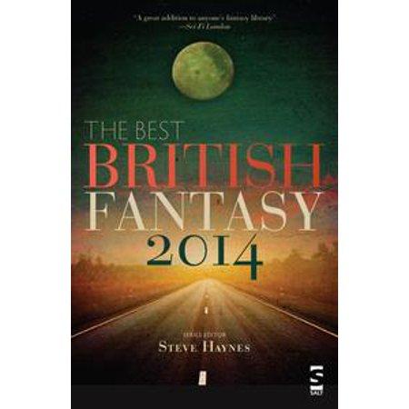 The Best British Fantasy 2014 - eBook