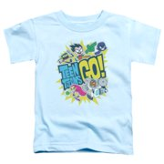 Teen Titans Go/Go S/S Toddler Tee Light Blue Ttg104