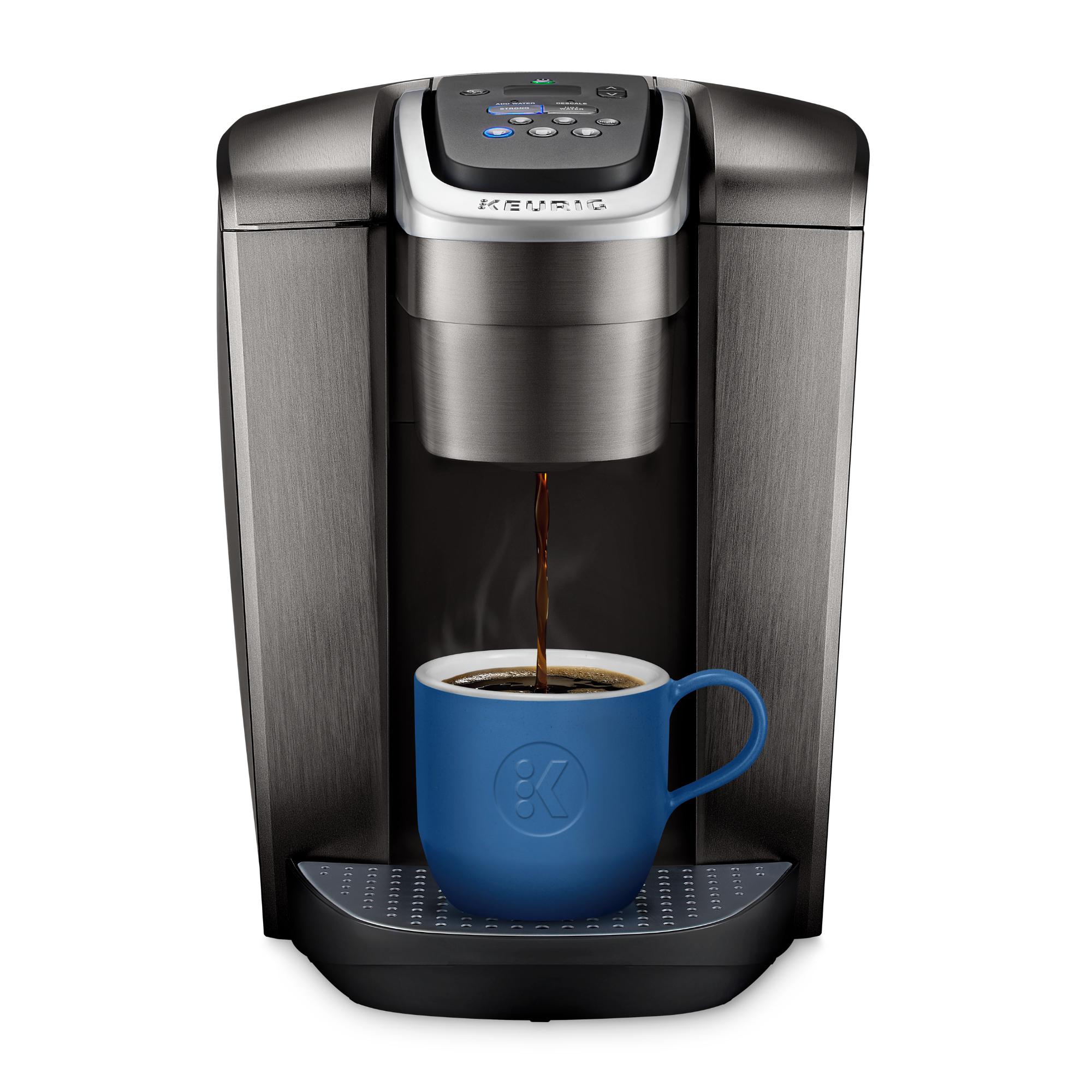 Keurig K-Elite Single-Serve K-Cup Pod Coffee Maker with Iced Coffee Setting - Brushed Slate