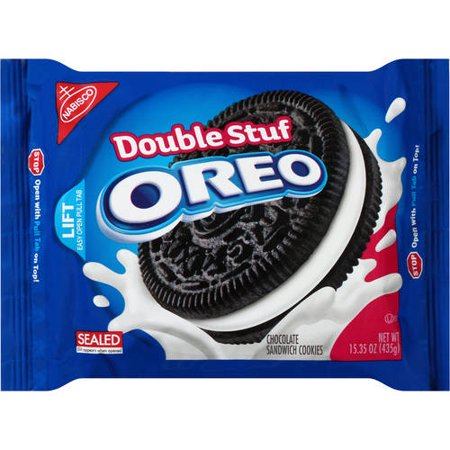 Nabisco Double Stuf Oreo Chocolate Sandwich Cookies, 15.35 oz
