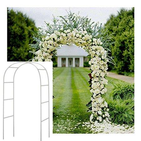Aimeeli 95'' Decorative Wedding Arbores Metal Arbor Wedding Garden Bridal Party Prom Floral Decoration Arbor - Wedding Arbor Diy