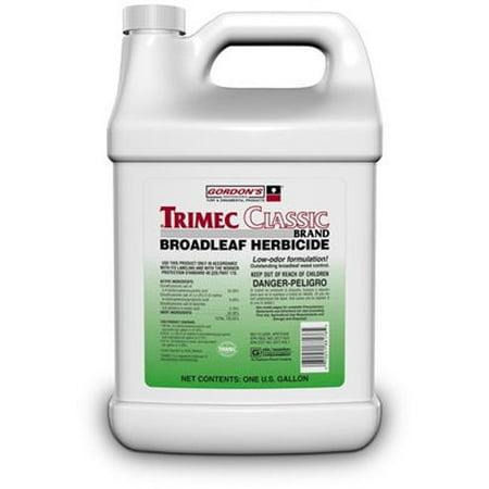 Trimec Classic Broadleaf Herbicide - 1 Gallon (Best Broadleaf Herbicide For Pastures)