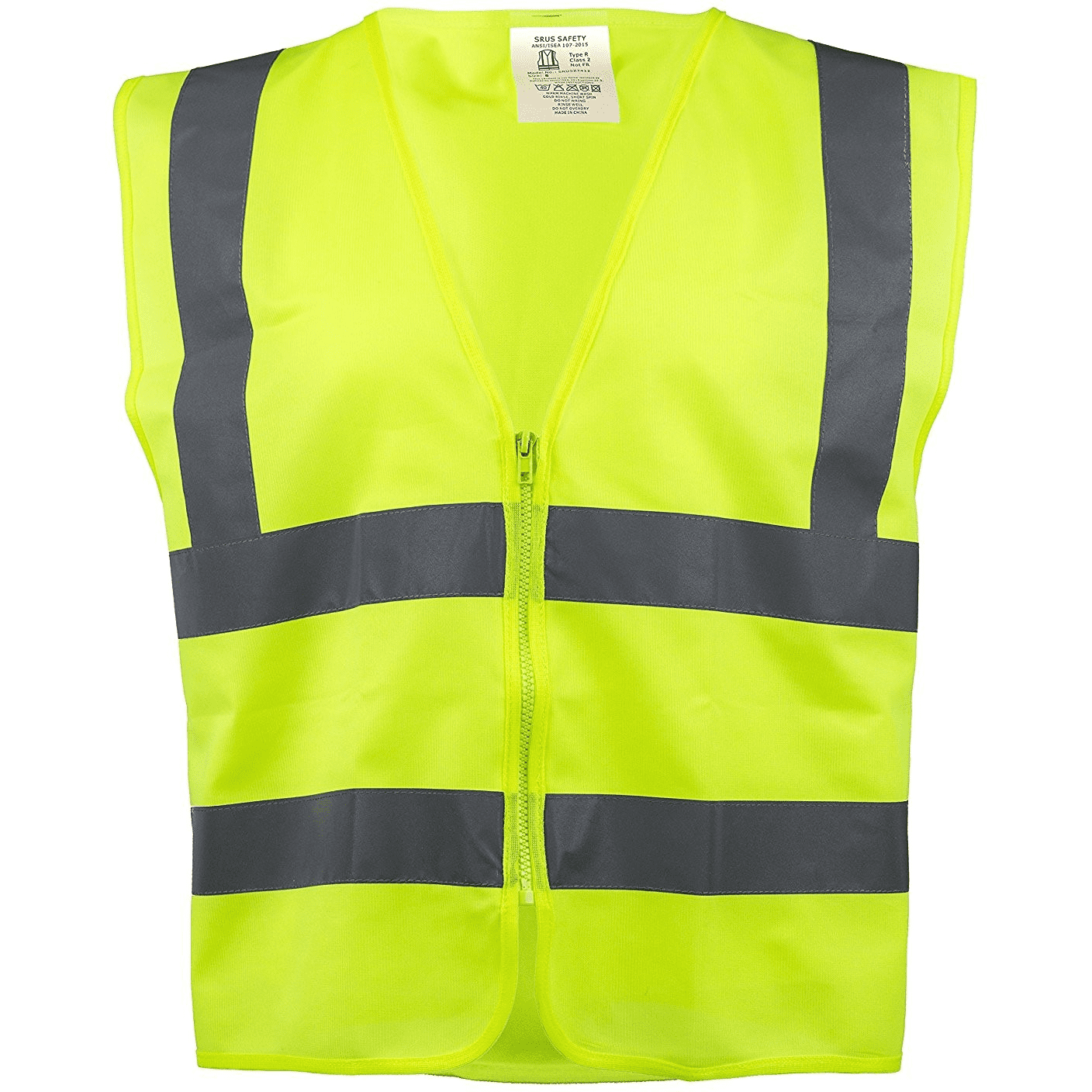 Click here to buy RK Safety Z7412 High Visibility Safety Vest, ANSI  ISEA Standard Neon Yellow   XXX-Large.