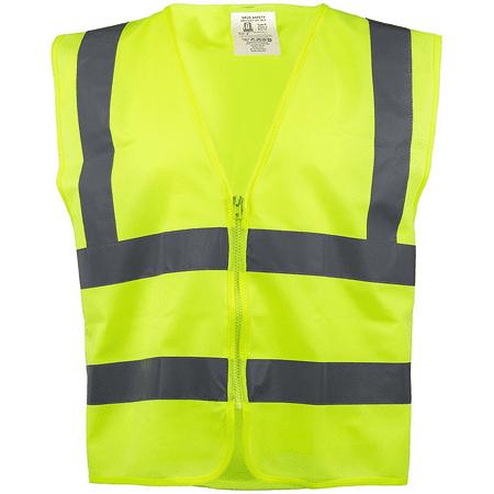 RK Safety Z7412 High Visibility Safety Vest ANSI ISEA Standard Neon Ye