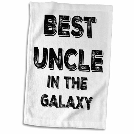 3dRose Best Uncle in the Galaxy - Towel, 15 by 22-inch