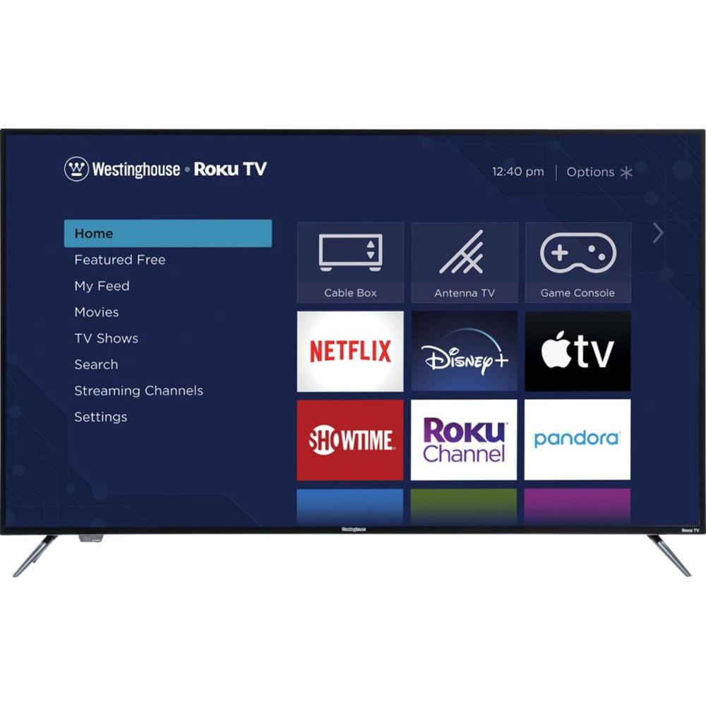 "Westinghouse 58"" Class 4K (2160p) HDR Roku Smart TV"