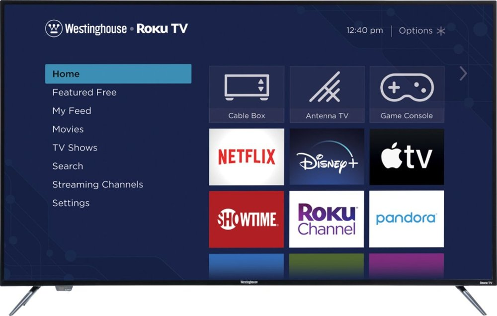 Westinghouse WR58UX4019 58″ 4K HDR Roku Smart TV