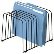"Fellowes Wire Desktop Organizer, 11 Section, Letter/Legal Files, 9"" x 11.38"" x 8"", Black"