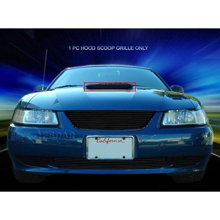 Fedar Hood Scoop Billet Grille For 1999-2004 Ford Mustang (Mustang Roush Hood Scoop)