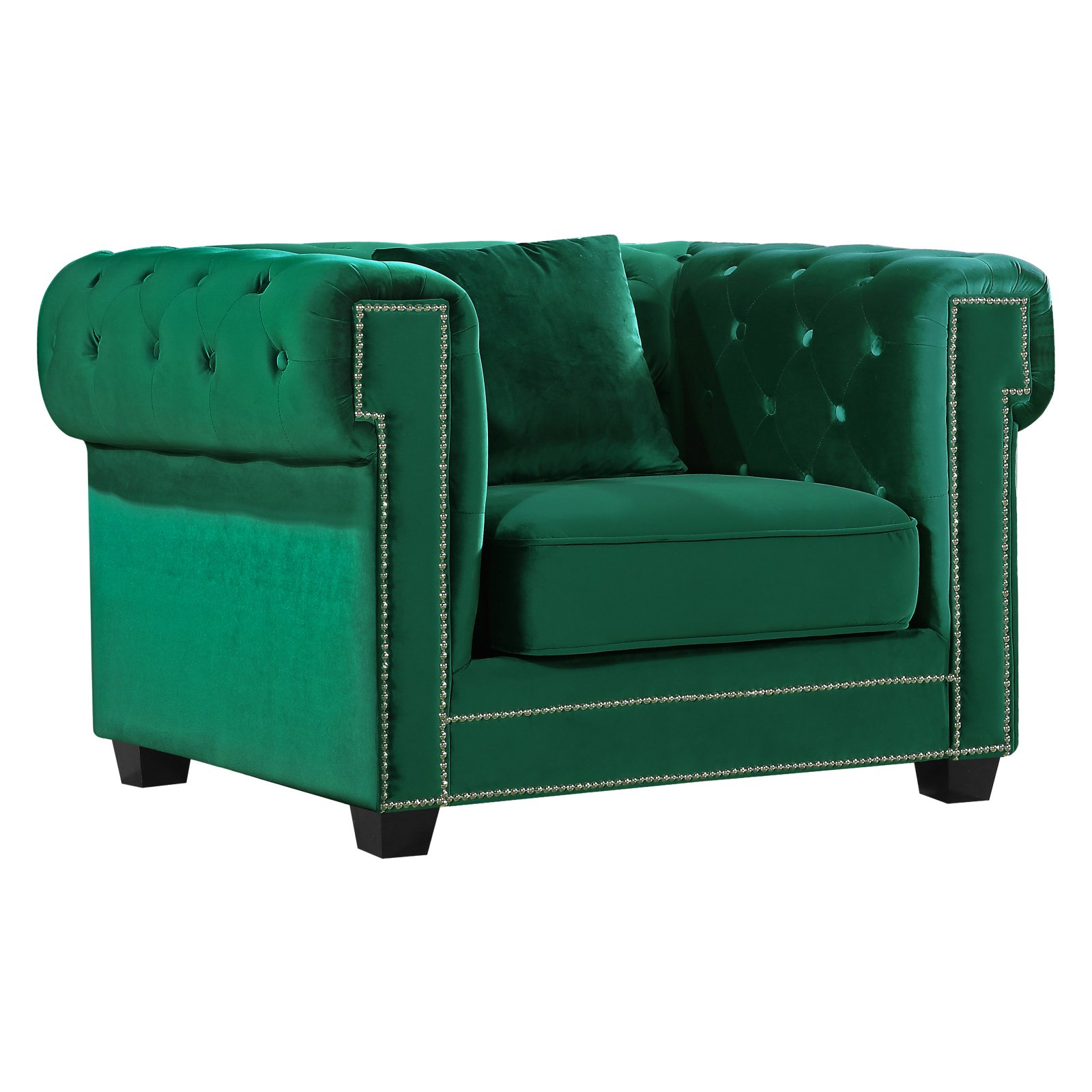 Meridian Furniture Inc Bowery Velvet Chair