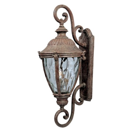 Maxim Morrow Bay DC Outdoor Hanging Wall Lantern - 27H in. Earth Tone