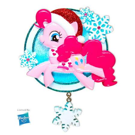 MLP Pinkie Pie w/Snowflake  Personalized Christmas Ornament DO-IT-YOURSELF