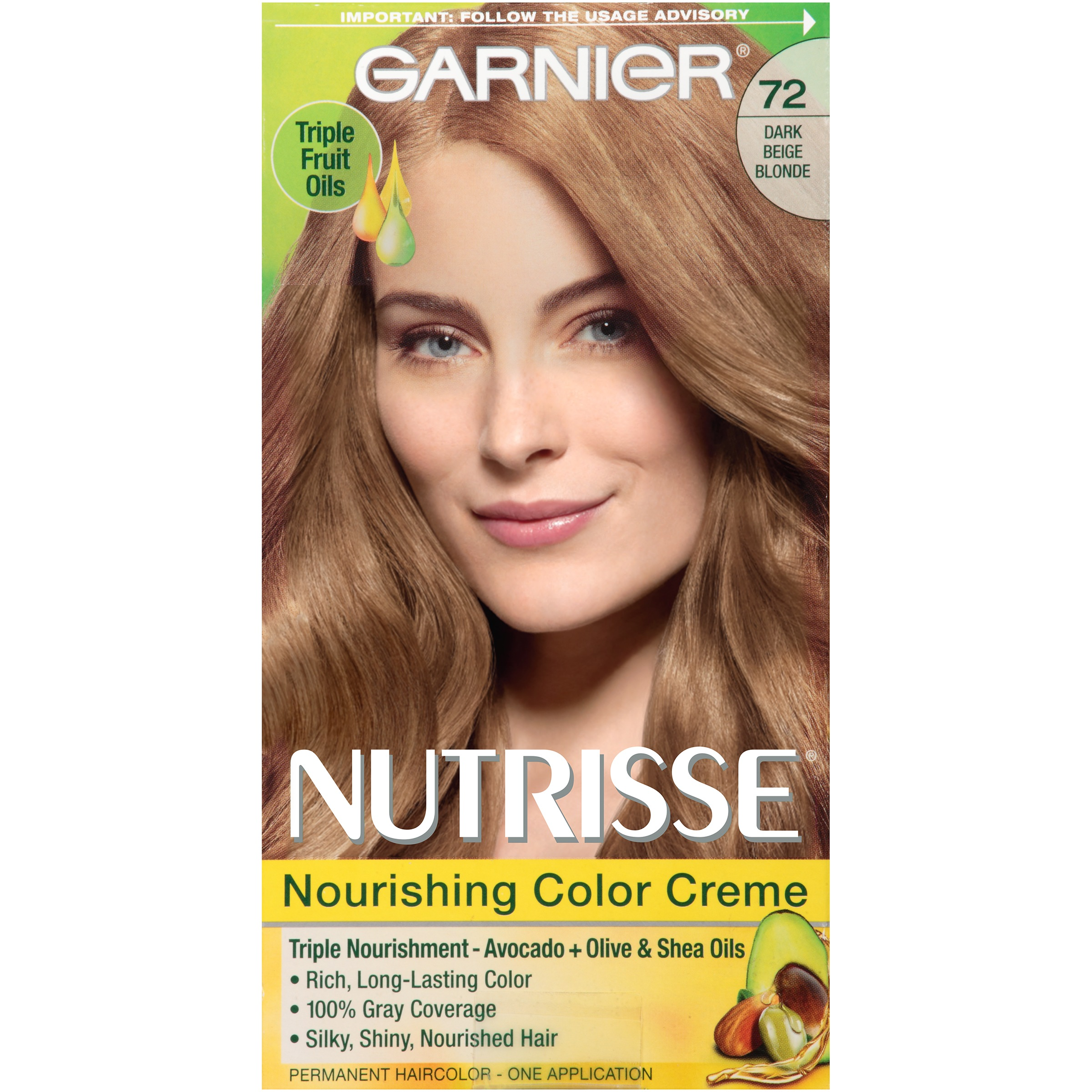 garnier nutrisse nourishing color creme hair color 72