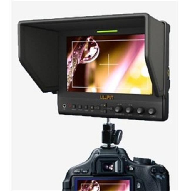 Lilliput Electronics 663-O-P 7 In.  Hdmi In&Out,Feaking Function - image 1 of 1