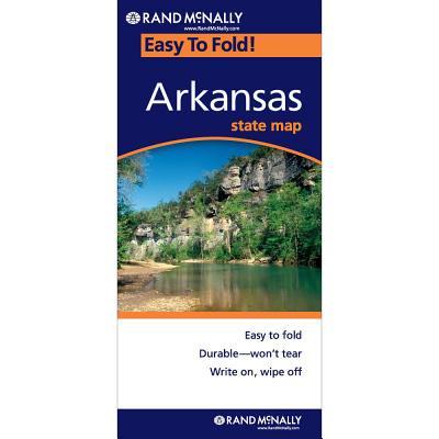 Easy to fold : arkansas - folded map: 9780528858178