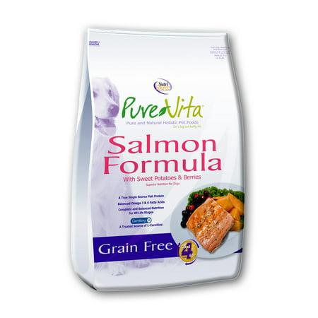 Pure Vita Salmon Dog Food Review