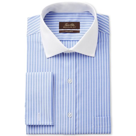 tasso elba mens striped button up dress shirt Tasso Elba Mens Single